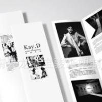 宣传单 说明书 定制 单页彩页 三折页印刷 宣传册 骑马钉册子定做