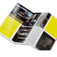 折页印刷彩页定制折页打印彩页广告传单三折页设计印刷企业单页