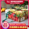 年货纸箱创意苹果火龙果节日礼盒水果通用包装盒手提礼品盒十斤装