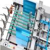 G-800A 温州最新型全自动双压线贴窗机 压线 压线平贴一体贴窗机