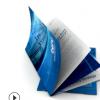 折页印刷宣传单彩页传单制作 宣传册彩页画册印刷 单层三折页