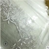 工厂直销写真喷绘超透贴彩白彩玻璃贴 UV打印静电贴 磨砂贴橱窗贴