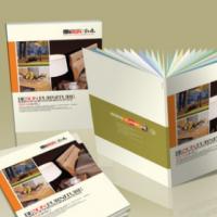 公司合同 产品宣传说明书画册 企业样本定制 彩页宣传单三折页