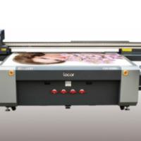 乐彩工厂直销特惠UV平板板材万能打印机5D打印机玻璃背景墙理光G5