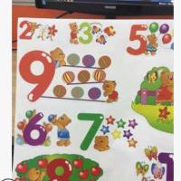 彩色标贴异形贴纸标牌定制 透明覆光膜卡通儿童贴纸pvc贴纸