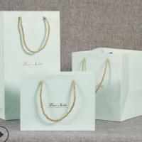 厂家直销白卡纸袋定做礼品服装纸袋定制LOGO 各种纸袋手提袋订做