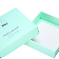化妆品折盒加工 圣诞礼品包装化妆品折盒 彩色天地盖礼品包装折盒