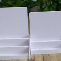 工厂定制 PVC安迪板展示架 收银台桌面摆台 小零食口香糖小货架