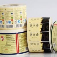 上海卷筒不干胶标签印刷日化食品多层贴纸定制