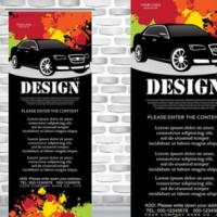 定制优质铝合金易拉宝定制户内户外喷绘写真海报展架喷绘广告制作