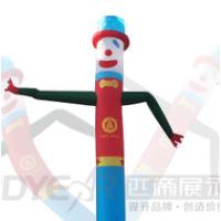 上海 展会 舞动之星 广告展柱 飞舞卡通人物 户外舞动广告 厂家