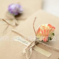 节日卡片定制印刷 创意简约古典折叠卡片印刷