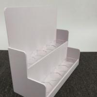 天津厂家定制 PVC超市货架 食品药品收银台小展架 柜台陈列展架
