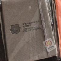 定制公司企业logo标志 广告宣传高档pu办公商务皮面笔记本定做