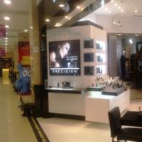化妆品奢饰品店铺玻璃展示柜台陈列专柜道具定制