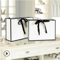 定制做批发牛皮纸袋茶叶包装服装购物礼品手提袋可印刷广告LOGO