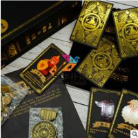 广州专业生产游戏卡厂家 桌游卡牌定制 暗月典藏版狼人杀游戏定做