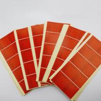 现货批发50*50mm不良标签贴纸 可定制各类正方形不干胶标签纸