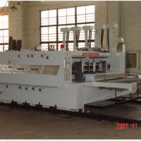 2500型半自动高速水性双色印刷开槽机: