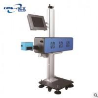 欧码全自动UV激光喷码机 塑料包装袋生产日期批号激光打标打码机