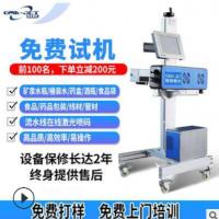 苏州全自动流水线激光喷码机 生产日期喷码机纸箱打标机 厂家直销