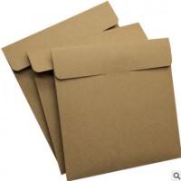信封 特种纸信封口水胶 西式信封 各种尺寸红色公司信封印刷定制