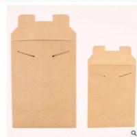 创意牛皮纸信封环保信封袋牛皮纸封套文件夹包装盒印刷定做