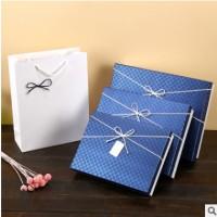 礼品盒长方形大号衬衫包装盒创意粉色礼物盒牛皮纸盒礼盒定制现货
