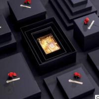 礼品盒长方形复古牛皮纸盒可乐礼盒天地盖杯子围巾创意礼品包装盒