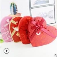 创意心形27格费列罗巧克力盒 情人节创意爱心行香皂花玫瑰花盒