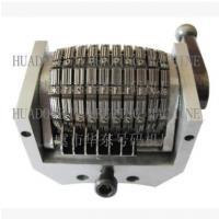 厂家直销轮转印刷号码机纵向39条码号码机10位可定制