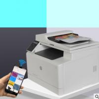 彩色激光打印机多功能一体机传真机复印机手机WIFI打印 CAD图打印