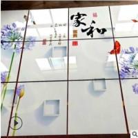 大型亚克力广告牌uv平板打印机 标识标牌logo浮雕瓷砖彩印机理光