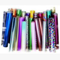 厂家批发定制 环保电镀pet彩色膜 彩色透光镭射膜印刷透明盖光膜