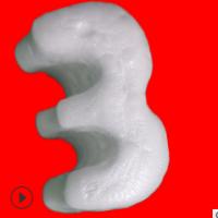 生产厂家现货供应S型发泡胶粒E形填充泡沫颗粒缓冲防震物