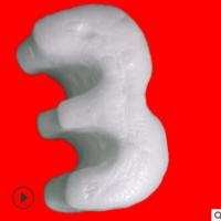 现货供应S型发泡胶 填充泡沫颗粒 环保发泡胶粒 厂家直销