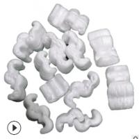 厂家现货直销S型发泡胶粒E形发泡胶粒填充泡沫颗粒