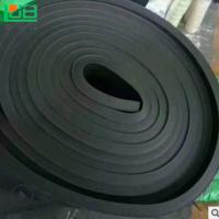 阻燃橡塑海绵保温板 b1级橡塑板贴压花铝箔 复合橡塑隔热板