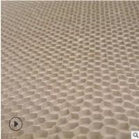 见坑蜂窝纸板 单面复合蜂窝纸板 物流环保缓冲内衬 定制厚度孔径