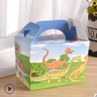 饼干包装盒蛋糕盒烘焙包装定制糖果盒现货批发 定制零食盒