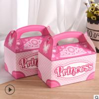 纸盒彩盒定制 糖果饼干包装盒生日蛋糕盒批发6/8/10/12寸烘焙