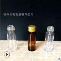 厂家直销药用透明口服液玻璃瓶茶色避光保健品玻璃瓶密封胶囊药瓶