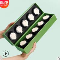 新款小罐茶包装盒绿茶茶叶礼盒装空盒碧螺春大红袍通用礼品盒定制