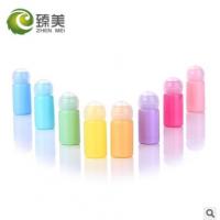 10ml马卡龙彩色球盖瓶 爽肤水化妆水瓶 化妆品包装分装瓶 试用装