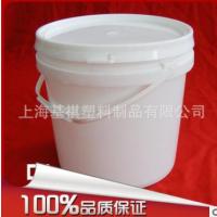 【厂家直销】5L塑料广口桶 pp塑料桶 5kg桶 5L塑料食用油桶食品级