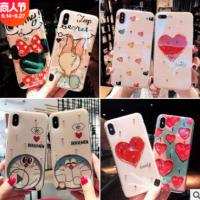 卡通动漫适用苹果X手机壳iPhoneXSmaxXR6/8plus 滴胶保护软壳新款