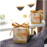 结婚喜糖盒批发创意喜糖包装盒子结婚伴手礼玉玺方形喜糖盒批发