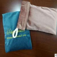 环保车载纳米矿晶活性炭香包丝绒布袋 意大利绒长毛布香皂包装袋
